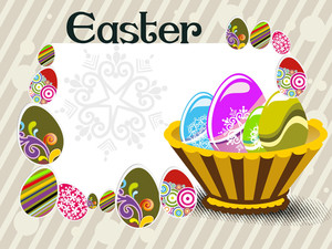 Illustration For Easter Day Celebration