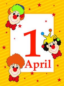 Illustration For Fools Day Celebration