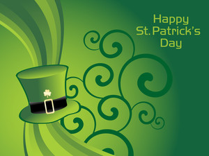 Illustration For Happy St Patricks Day