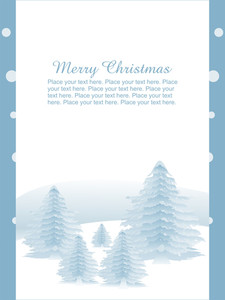 Illustration For Merry Christmas Gretting Card