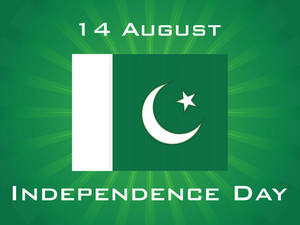 Illustration For Pak Independence Day