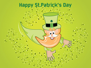 Illustration For Patrick Day