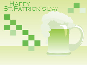Illustration For St Patrick Day Background