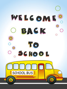 Illustration For Welcome Back To School