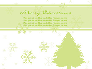 Illustration Green Pine Tree Vector Background