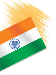 Illustration Indian National Flag