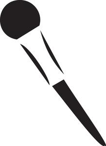 Illustration Of A Blusher Brush.