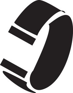 Illustration Of A Bracelet.