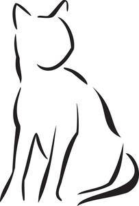 Illustration Of A Cat.