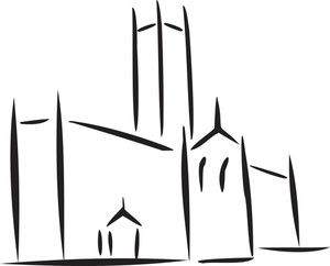 Illustration Of A Church.