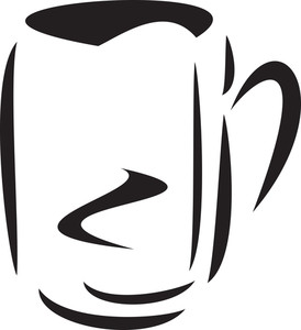 Illustration Of A Coffee Mug.
