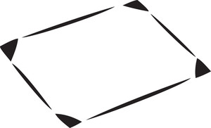 Illustration Of A Computer Mouse Pad.