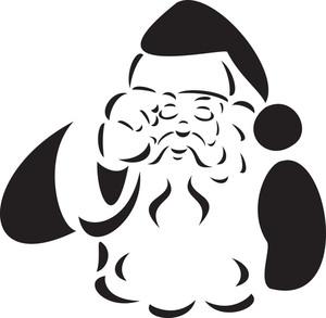 Illustration Of A Crying Santa Claus.