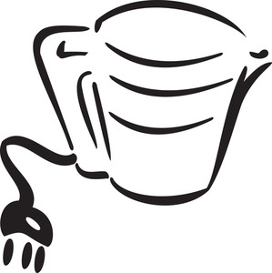 Illustration Of A Cup With Tea Bag.