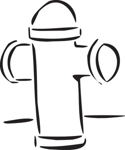 Illustration Of A Hydrant.