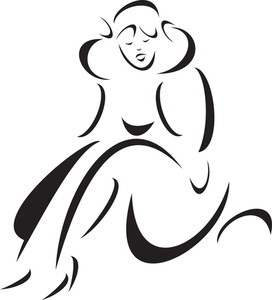 Illustration Of A Sad Fairy.