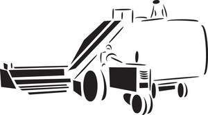 Illustration Of Agricultural Machinery.