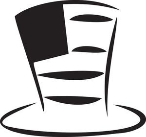 Illustration Of American Hat.