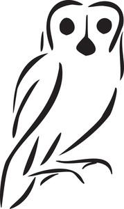 Illustration Of An Owl.