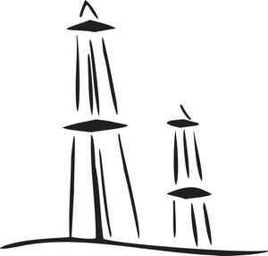 Illustration Of Arabian Building.