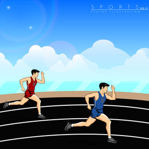 Illustration Of Athletes