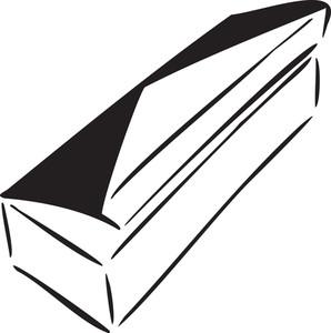 Illustration Of Cigarette Box.