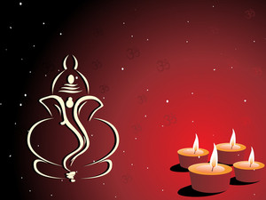 Illustration Of Diwali Background