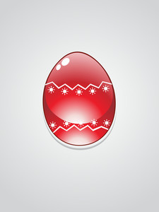 Illustration Of Easter Egg
