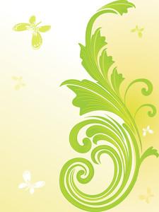 Illustration Of Floral Pattern