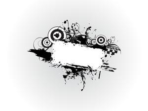 Illustration Of Grungy Frame