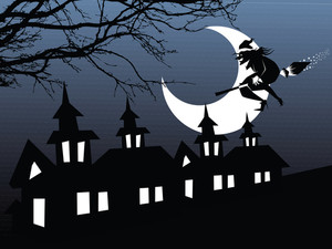 Illustration Of Halloween Background Series2 Set14