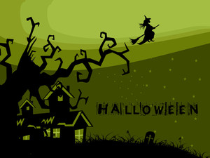 Illustration Of Halloween Background