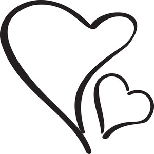 Illustration Of Hearts.
