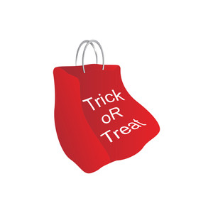 Illustration Of Isolated Red Bag