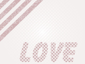 Illustration Of Love Background