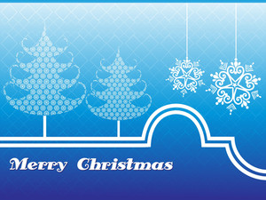 Illustration Of Merry Christmas Background