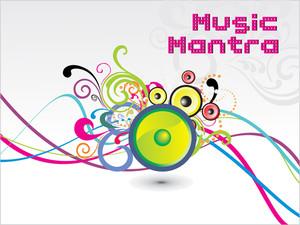 Illustration Of Musical Background