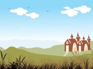 Illustration Of Nature Wallpaper
