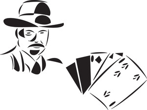 Illustration Of Poker Card.