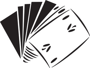 Illustration Of Poker Cards.