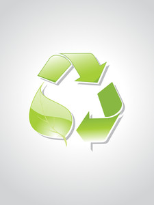 Illustration Of Recycling Symbol