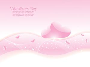 Illustration Of Romantic Wallpaper