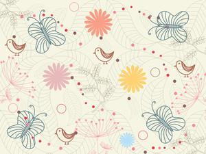 Illustration Of Seamless Background