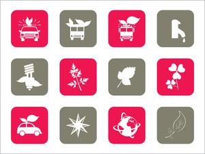 Illustration Of Set Of Icons