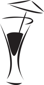 Illustration Of The Drink Glass.