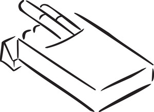 Illustration Of The Packet Of Cigarette.