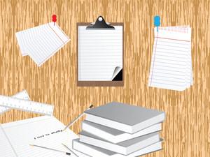 Illustration Study Background