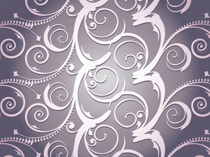 Illustration Victorian Pattern
