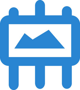 Image Canvas Simplicity Icon