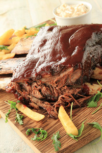 Beef Ribs In Bbq Sauce